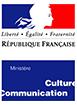 Logo partenaire ministere culture color