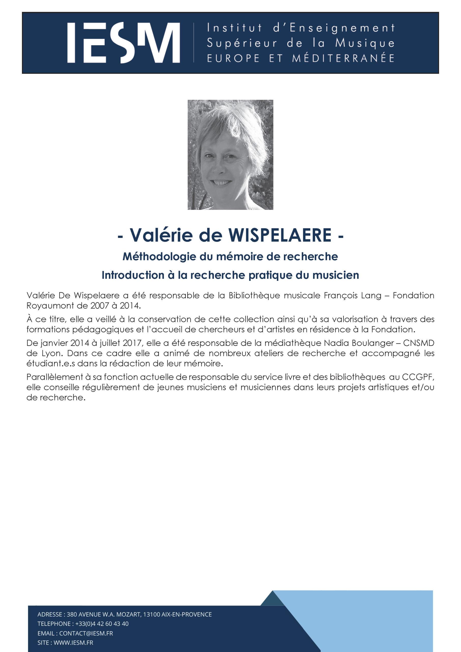 DE WISPELAERE Valérie scaled