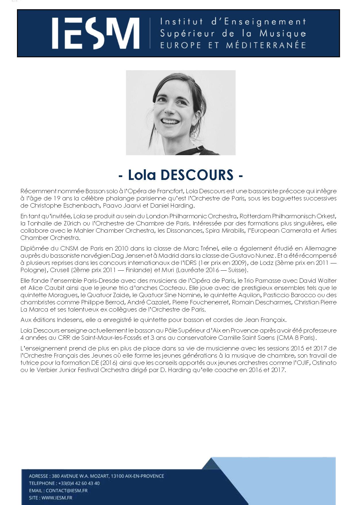 DESCO LOLADESCOURS