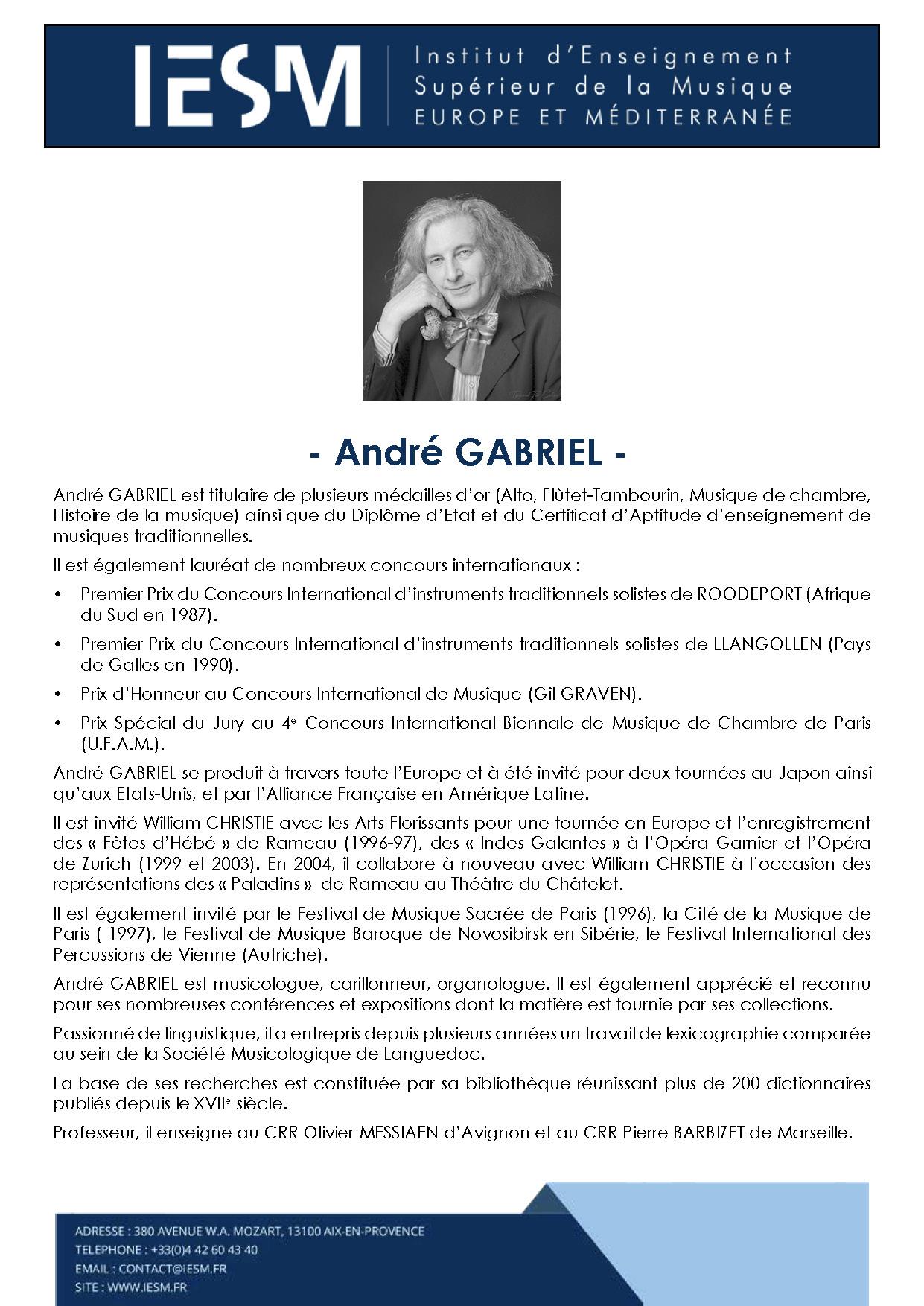 GABRI ANDREGABRIEL