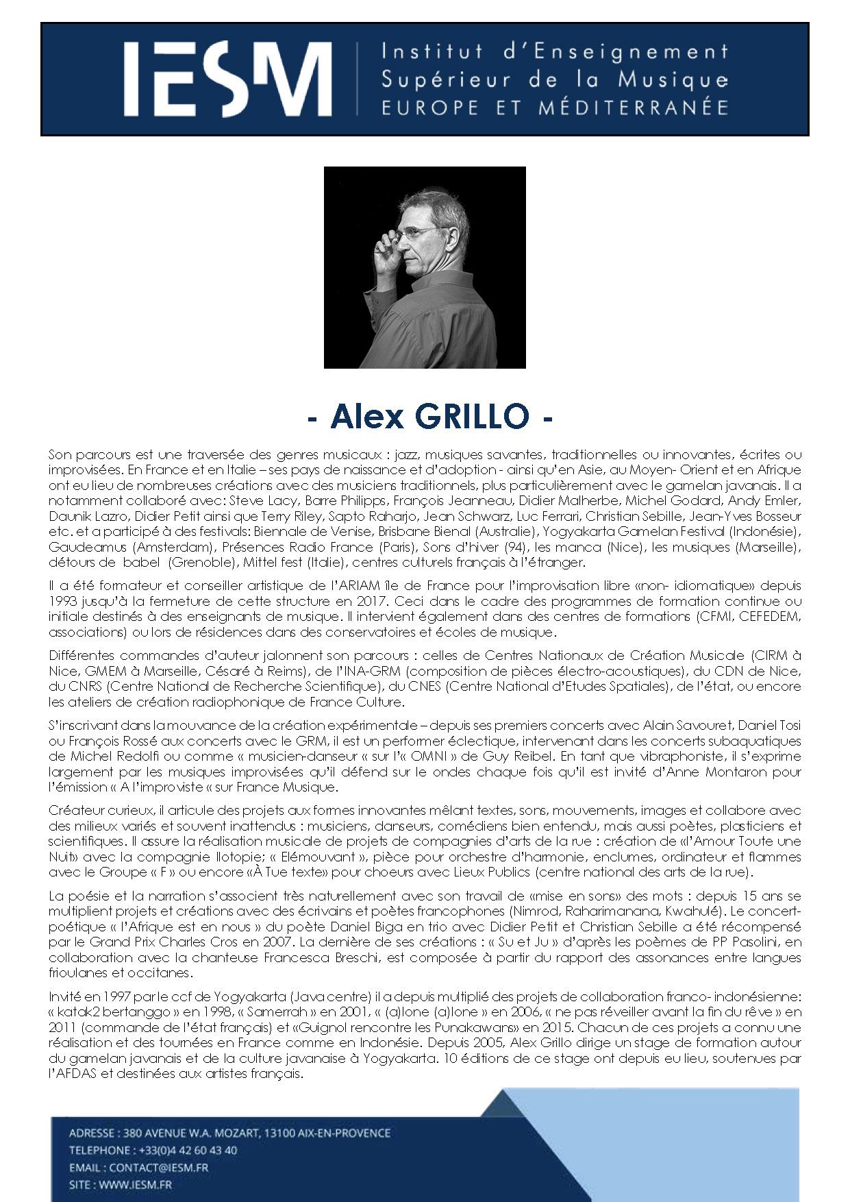 GRILL ALEXGRILLO