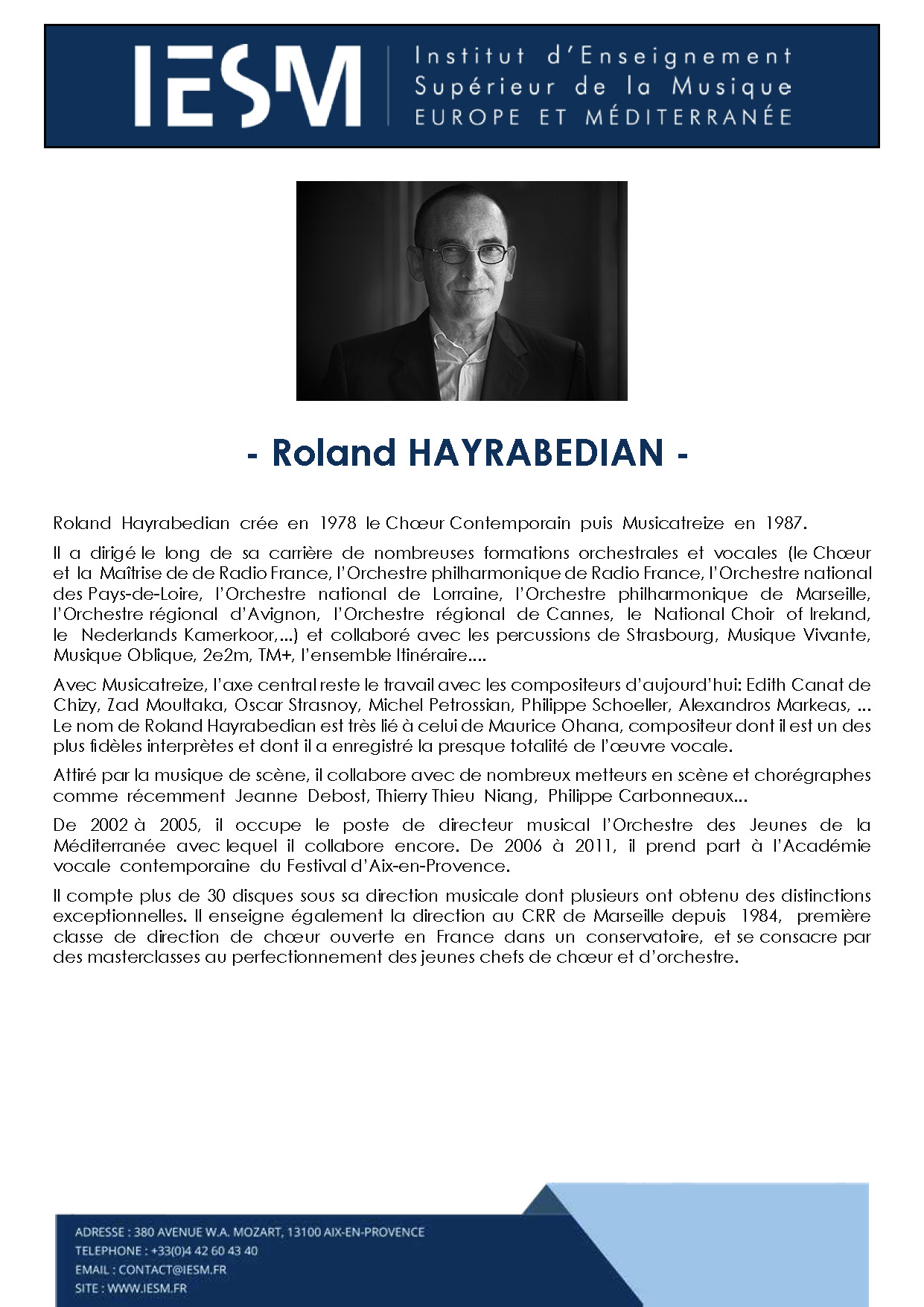 HAYRA ROLANDHAYRABEDIAN