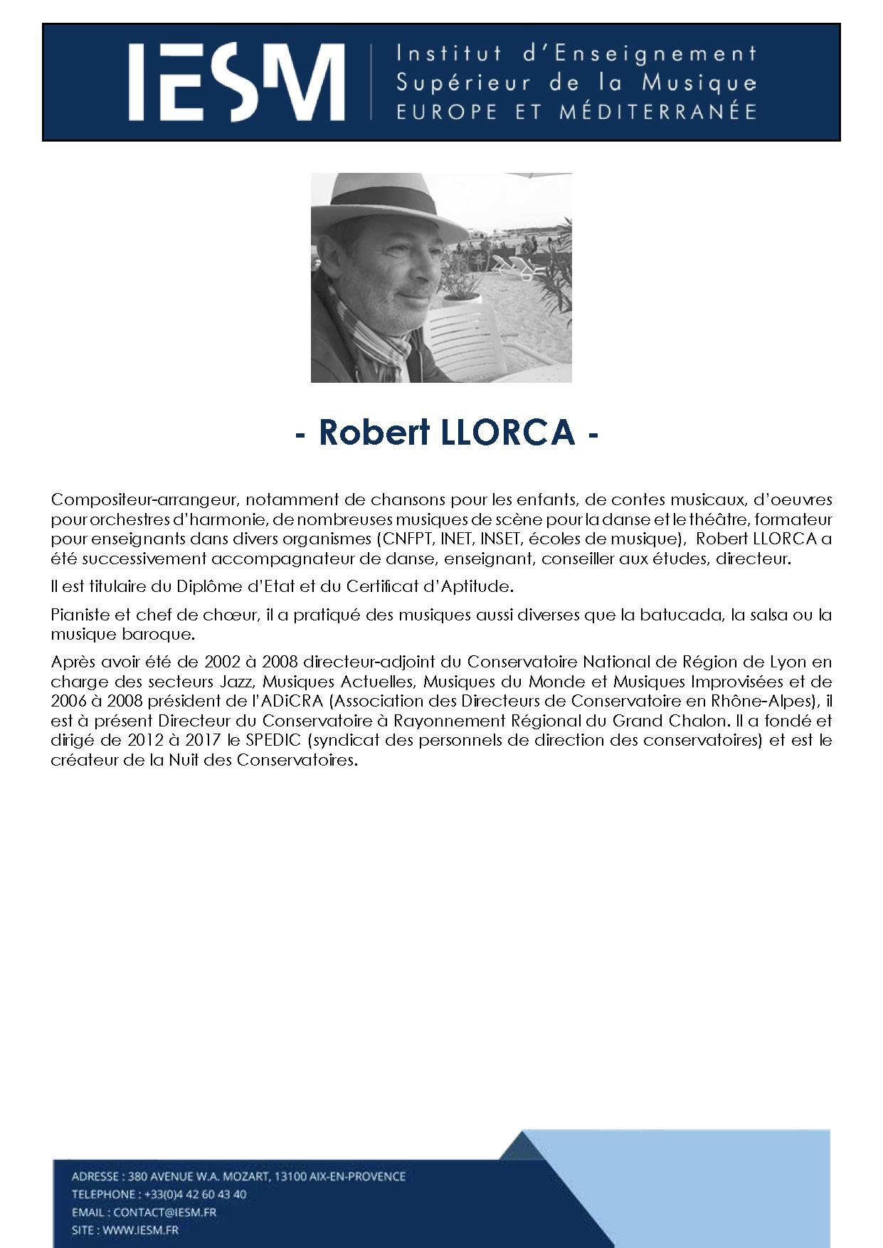 LLORC ROBERTLLORCA