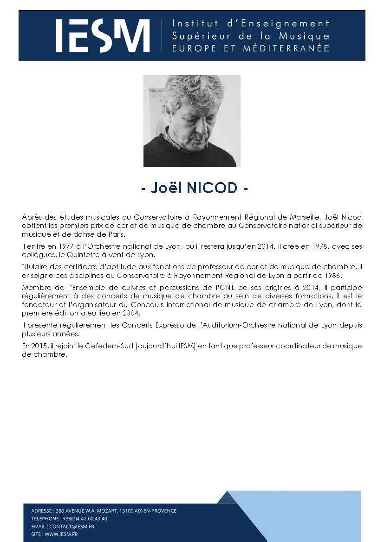 NICOD JOELNICOD