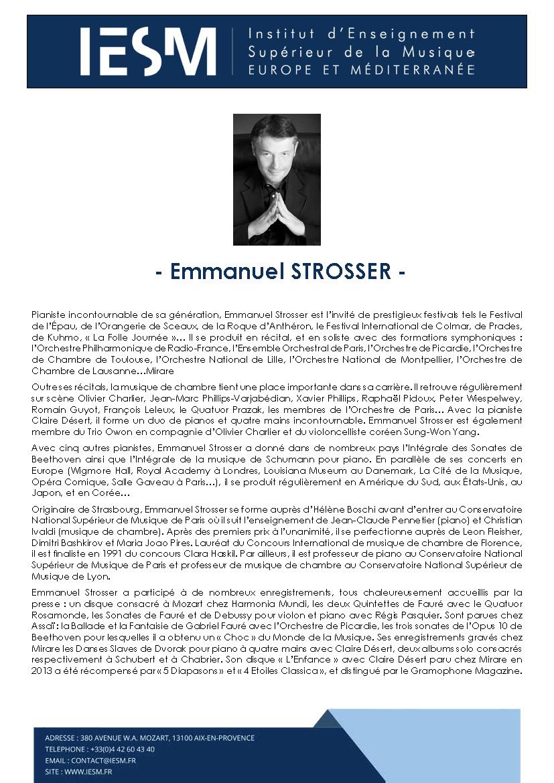 STROS EMMANUELSTROSSER