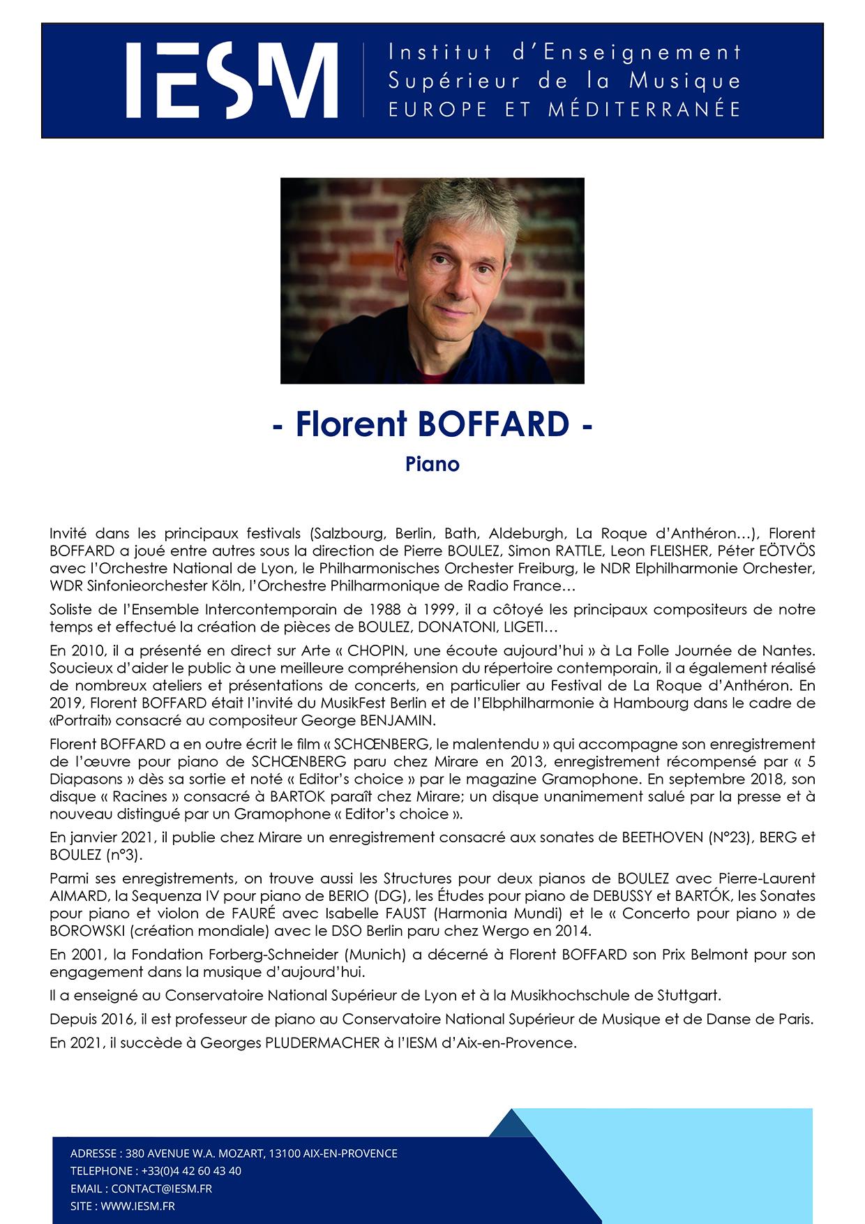 BOFFARD Florent